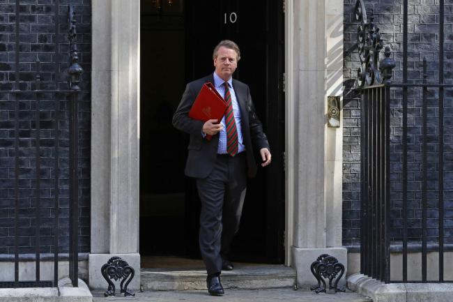 Scottish Secretary Alister Jack at Downing Street. Picture; PA