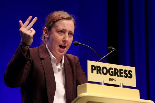 Mhairi Black says her gender has been questioned because she dresses differently