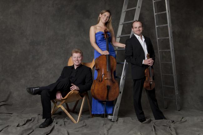 Leonore Piano Trio. Picture:Eric Richmond