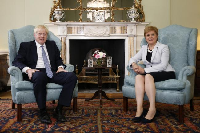 Johnson and Sturgeon want Glasgow summit to be success but could venue be threatened over policing costs?