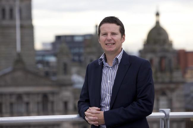 Glasgow Chamber of Commerce deputy chief executive Richard Muir. Picure: Chris James.