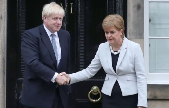 Nicola Sturgeon: Scotland did not choose Brexit and we did not choose Boris Johnson