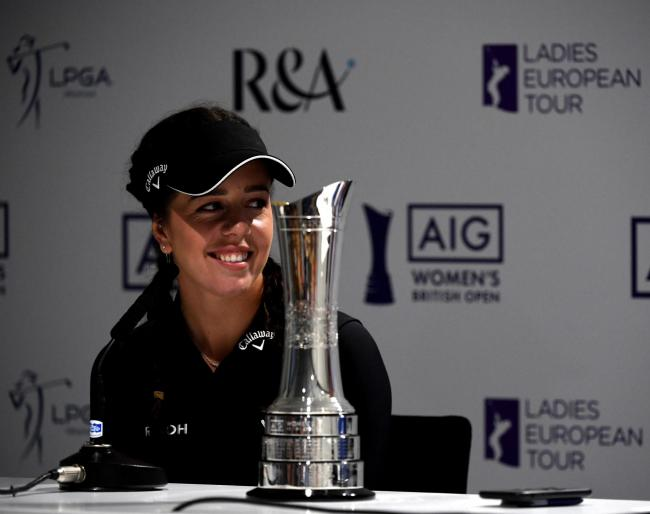 Georgia Hall defends the AIG Women's British Open title this week