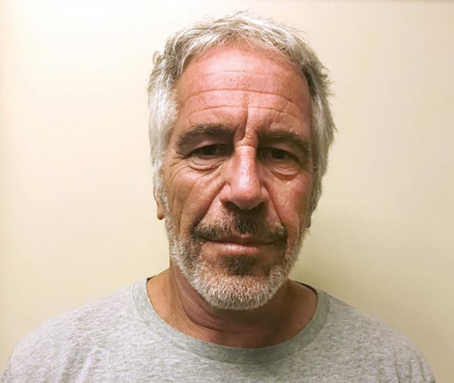 FILE - This March 28, 2017, file photo, provided by the New York State Sex Offender Registry shows Jeffrey Epstein. Epstein is set to return to court Wednesday, July 31, 2019, to face sex trafficking charges just days after he was found injured in his cel