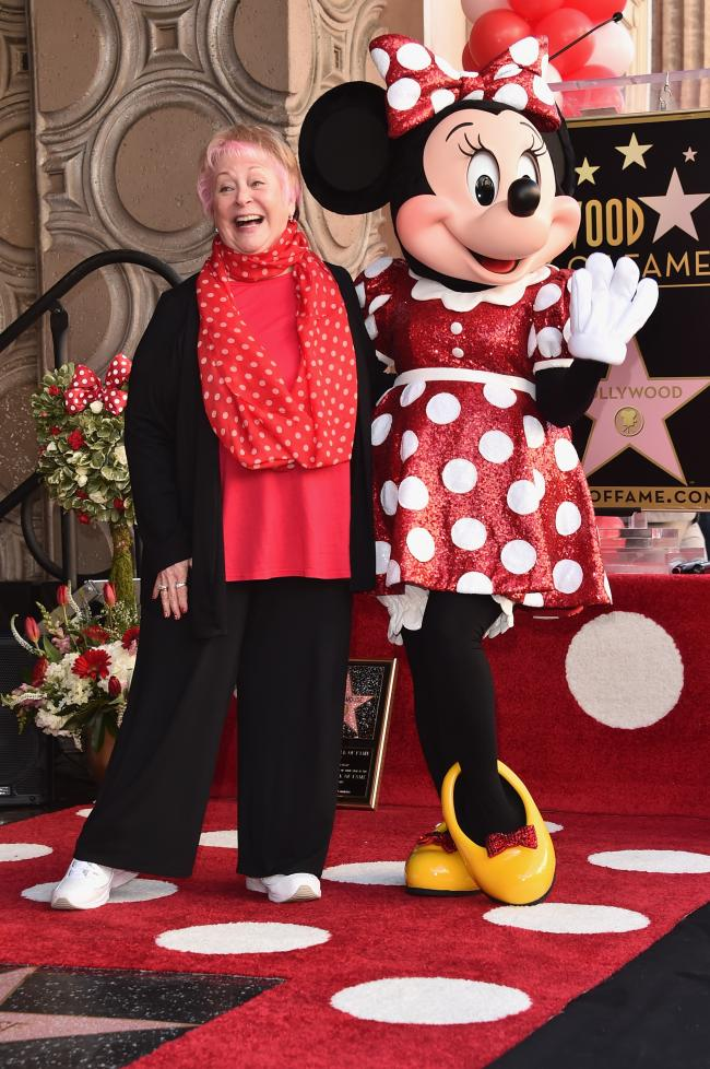 FILE - JULY 27: Russi Taylor, best known for voicing the Disney character Minnie Mouse, passed away on July 26, 2019 in Glendale, California.  She was 75 years old. HOLLYWOOD, CA - JANUARY 22:  Voice actress Russi Taylor, who has voiced Minnie Mouse since