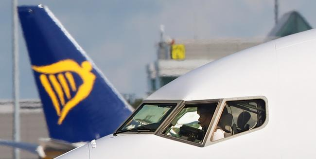 File photo dated 21/09/17 of a Ryanair plane  at Dublin Airport. Pilots at Ryanair are to be balloted on whether to take industrial action in a dispute over pay and conditions. PRESS ASSOCIATION Photo. Issue date: Wednesday July 17, 2019. Members of the B