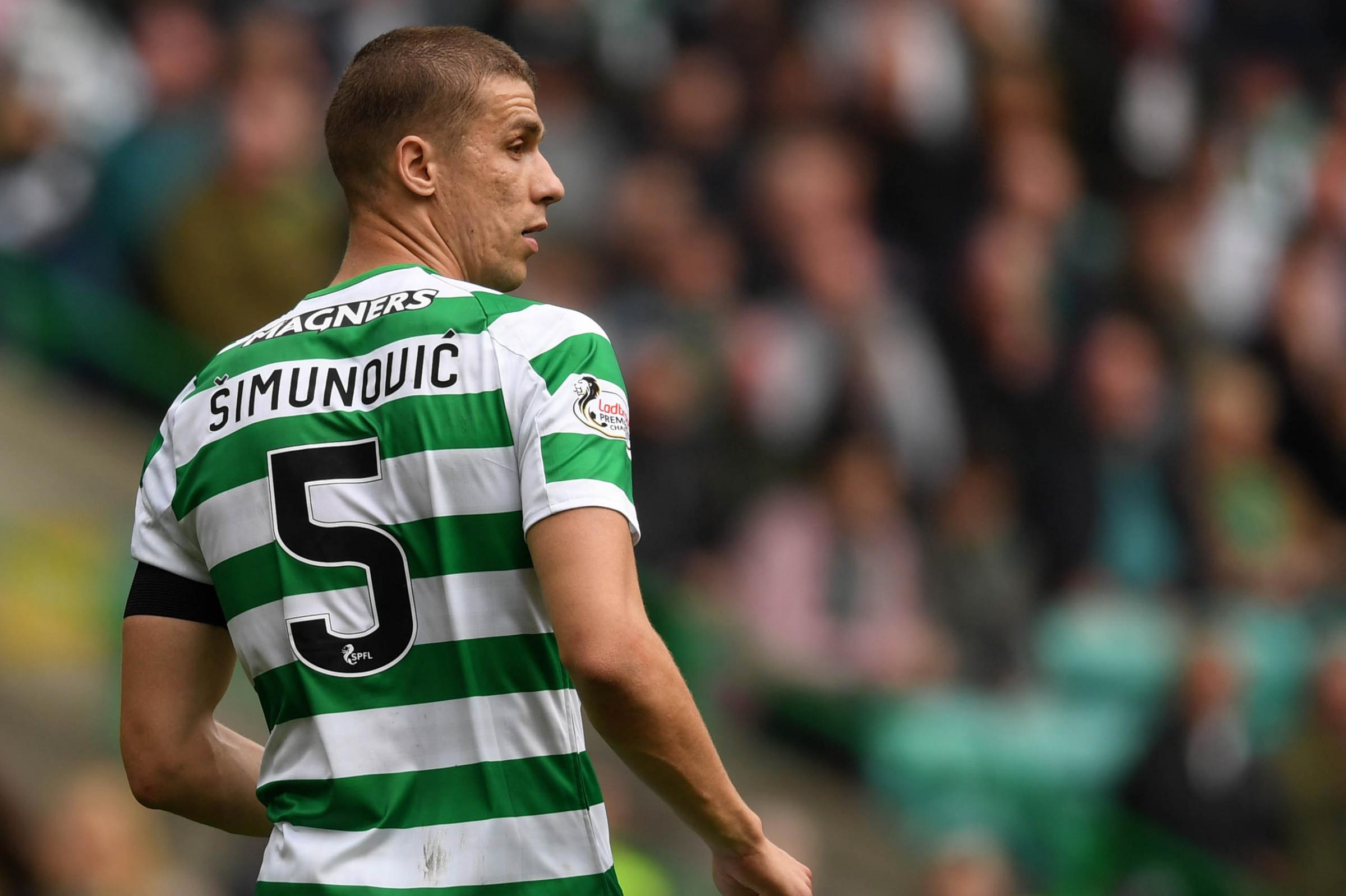 Celtic star Jozo Simunovic looks set to miss Europa League opener vs Rennes with knee injury