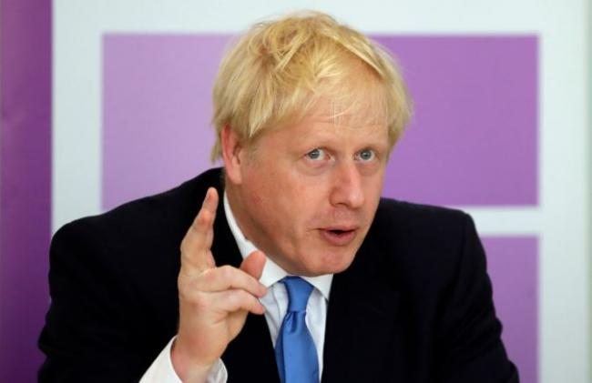 The leak yesterday came as Boris Johnson's Government ramped up its rhetoric over leaving the EU by the 31 October deadline, whether a new deal is brokered or not. Picture: PA Wire