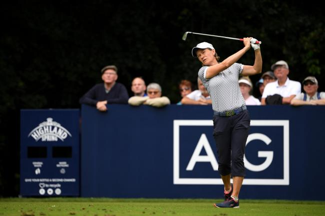 Catriona Matthew missed the cut at Woburn