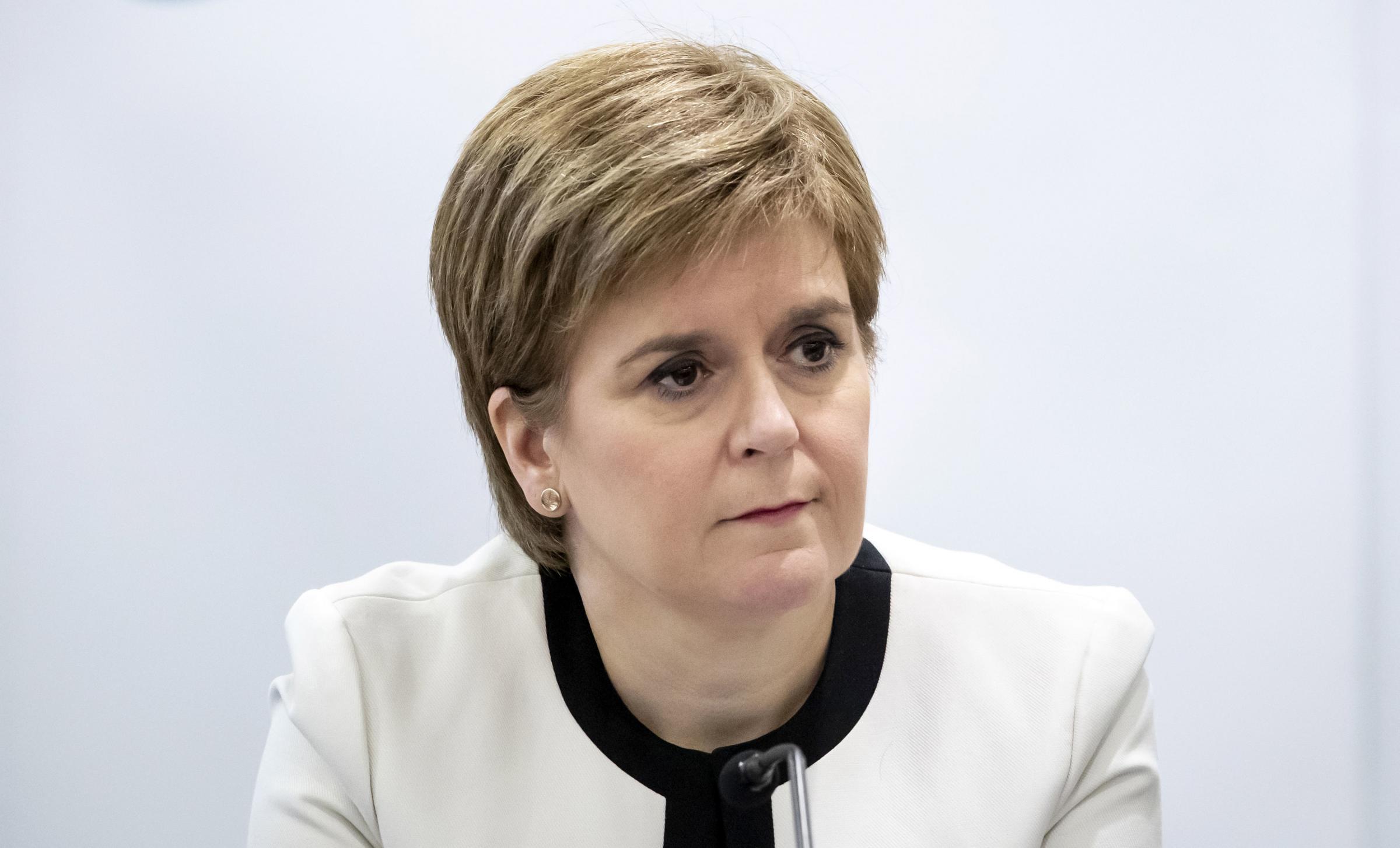 Nicola Sturgeon responds to suspension of Tory over miscarriage 'joke'