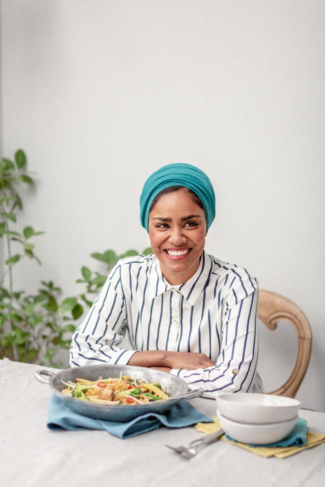 Undated Handout Photo of Nadiya Hussain. See PA Feature FOOD Recipe Bao Buns. Picture credit should read: PA Photo/Chris Terry. WARNING: This picture must only be used to accompany PA Feature FOOD Recipe Bao Buns.