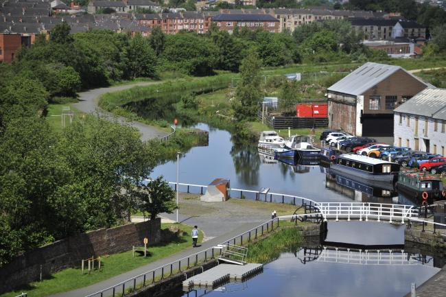Forth and Clyde canal, Maryhill
