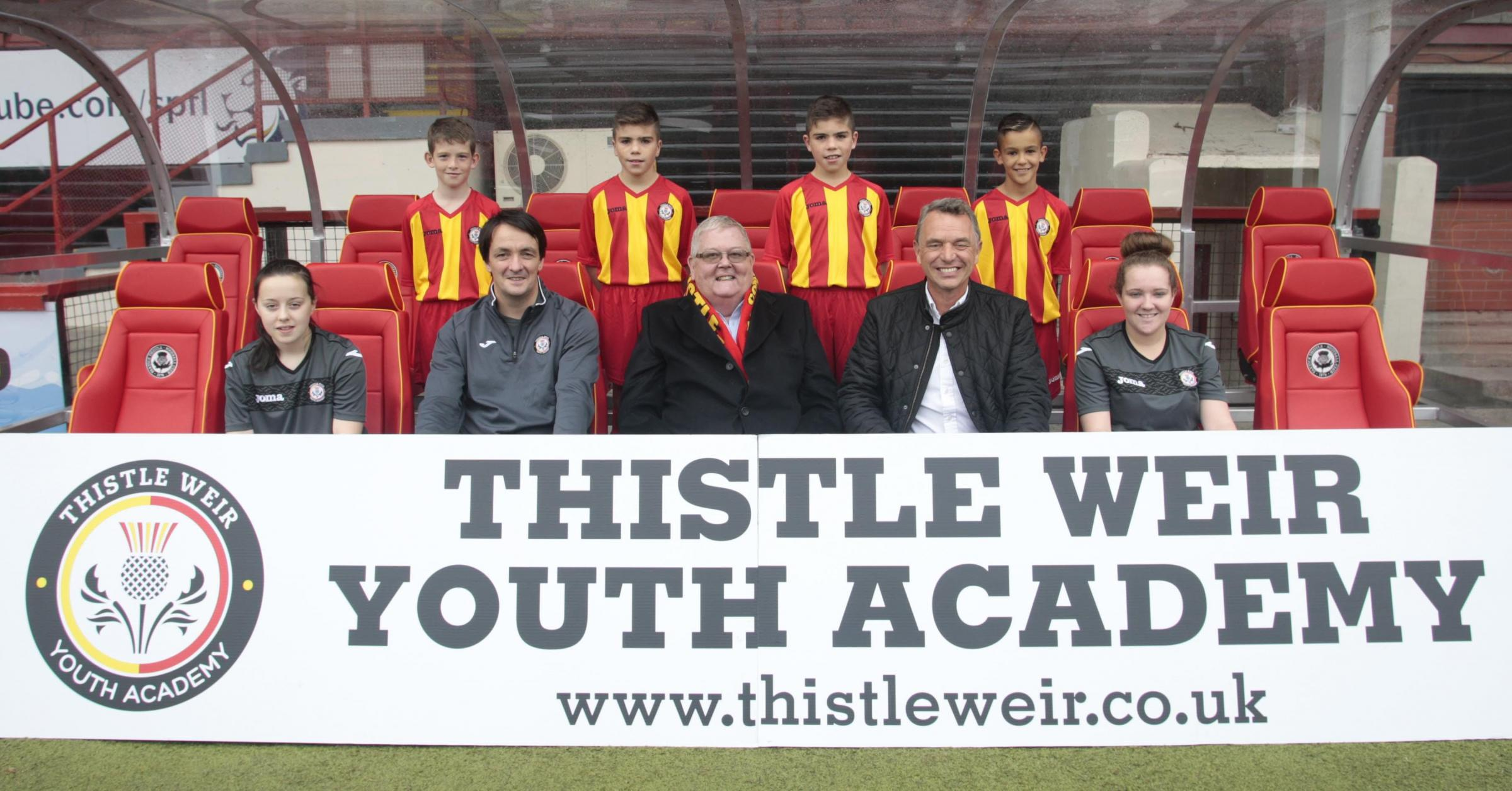 Colin Weir resumes funding of Partick Thistle youth academy
