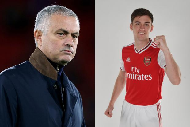 Jose Mourinho hails 'humble' Kieran Tierney and likens ex-Celt to throwback defender