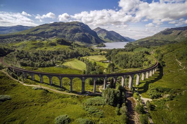The line is a huge draw for tourists to Scotland