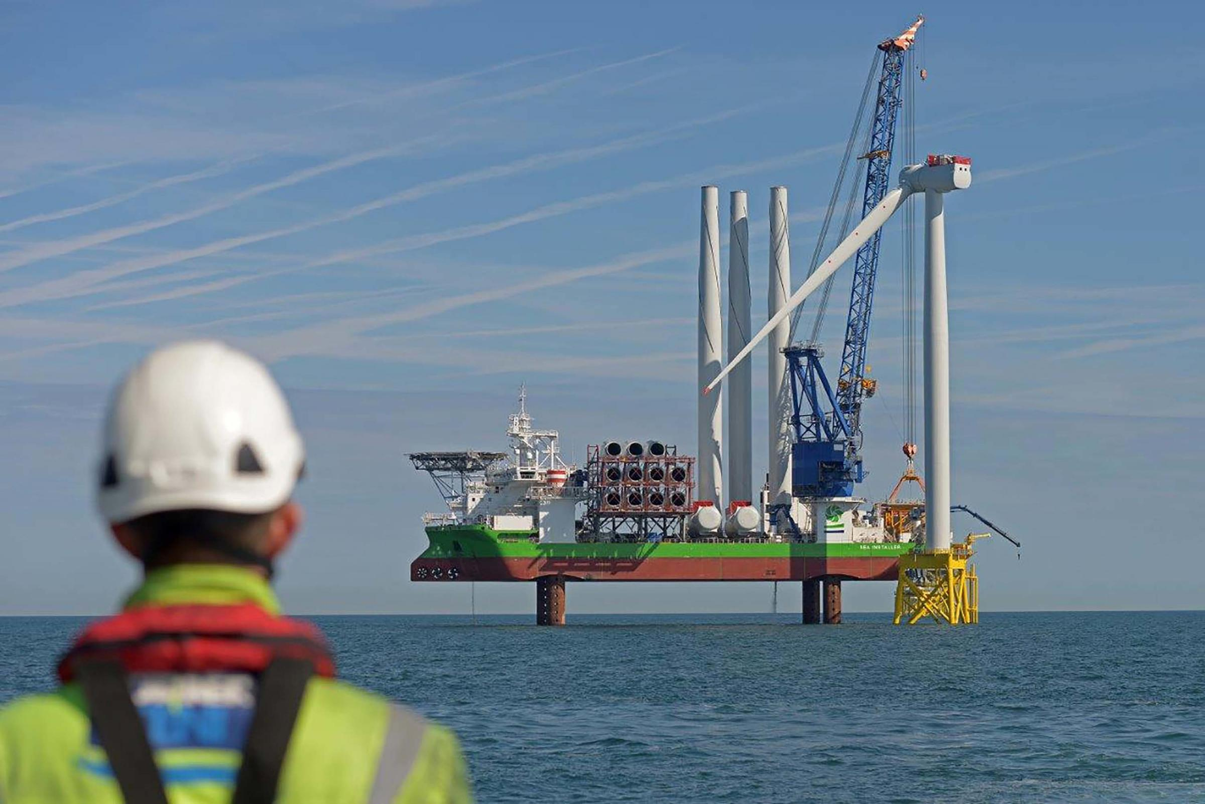 £1.6bn windfarm deal boost for North Sea