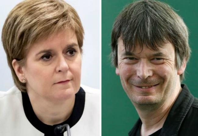 Nicola Sturgeon to interview Ian Rankin at crime writing festival