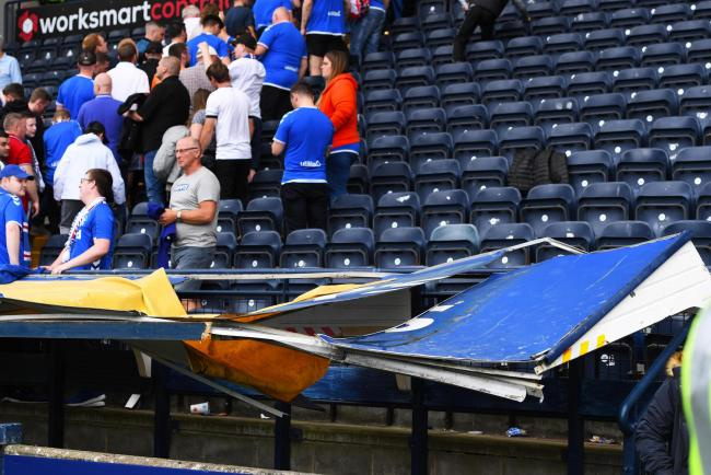 Rangers criticise Kilmarnock over fan 'crush' outside Rugby Park last week