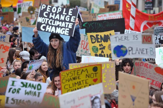 Hundreds of thousands of pupils across the world took part in the school climate strikes