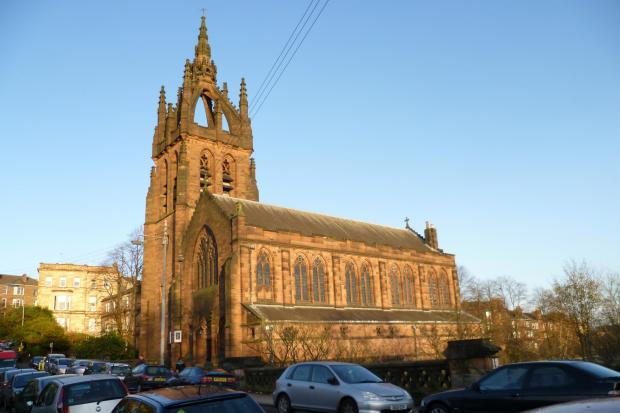 Kelvin Stevenson Memorial church, North Kelvinside.