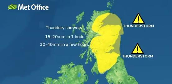 HeraldScotland: The Met Office issued a second day of weather warnings earlier this month