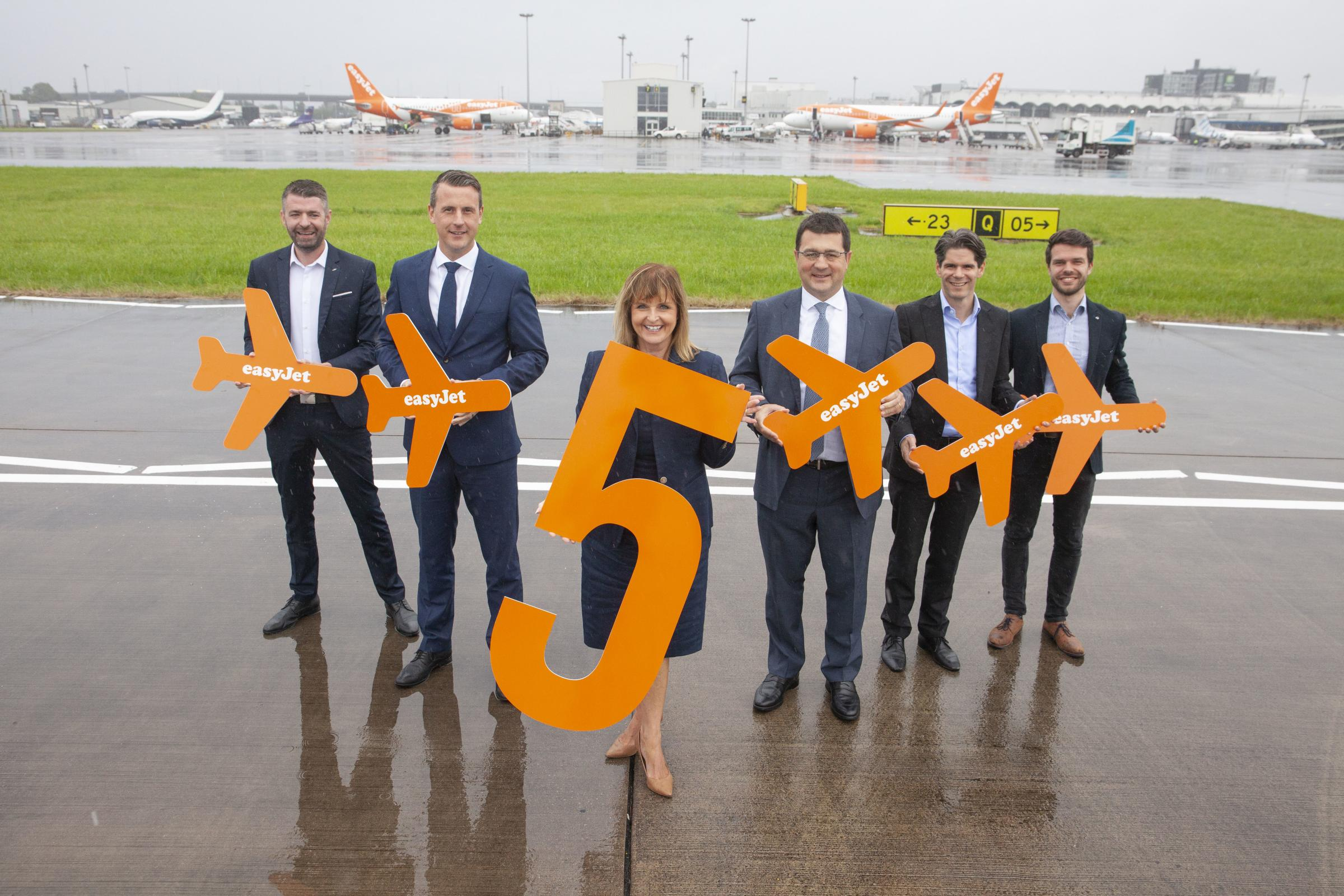 Easyjet vows to expand Scottish routes after Glasgow jobs boost