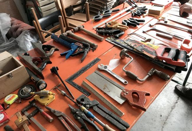 Donations are being sought for the Glasgow Tool Library