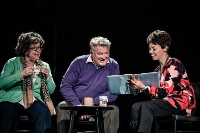 Elaine C. Smith, Lewis Howden, and Sasha Frost in Red Dust Roadphoto - Richard Davenport