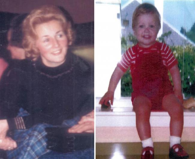 Renee MacRae and three-year-old Andrew vanished in 1976. Credit: Police Scotland