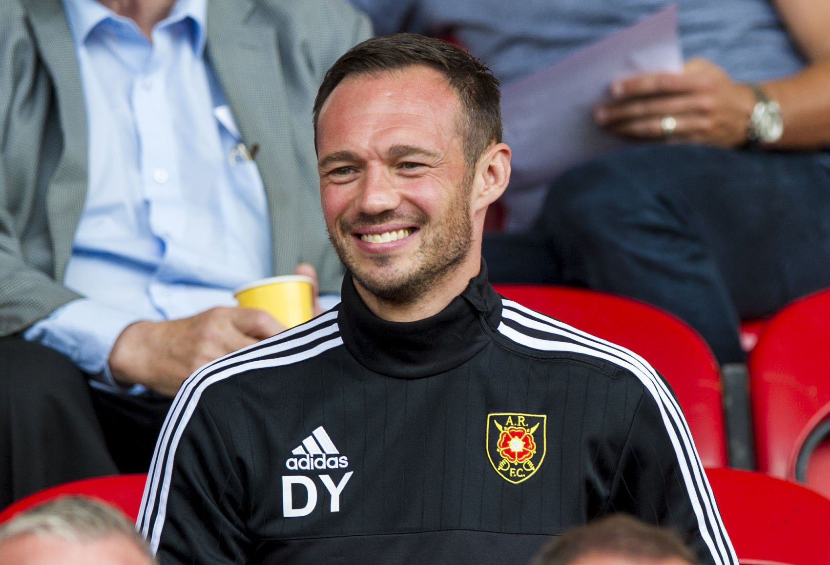 East Fife boss Darren Young is dreaming of full time job and shocking Rangers