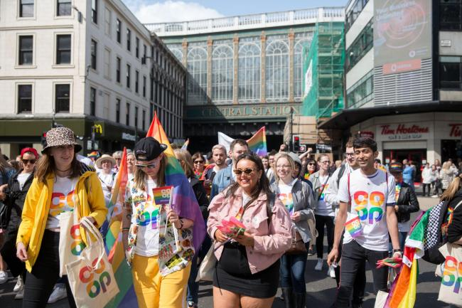 Over 9,000 people take to streets of Glasgow for Pride march 2019