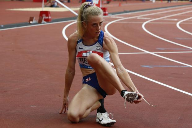 Jemma Reekie is facing stiff competition to reach the World Championships in Doha