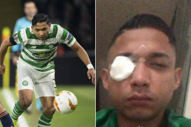 Emilio Izaguirre rushed to hospital with glass in his eye after violence during Honduras derby that saw three killed