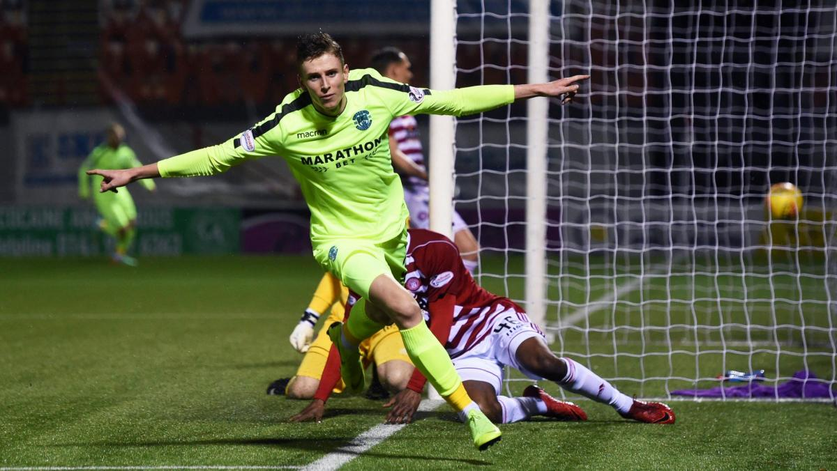 Kilmarnock and St Johnstone keen on loan move for Hibs striker Oli Shaw