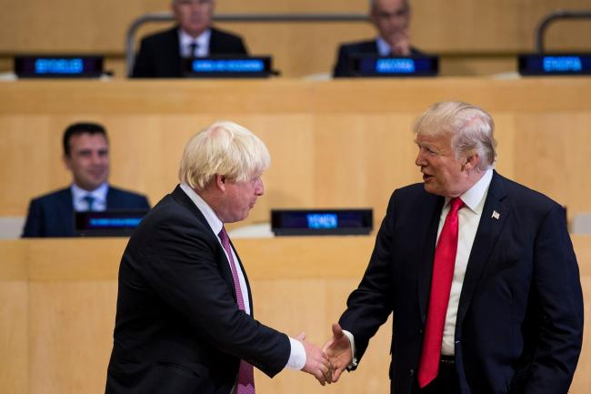 Boris Johnson and Donald Trump will meet again at the G7 summit next weekend