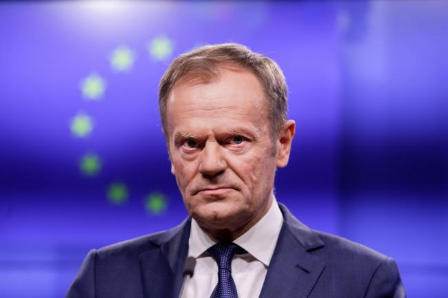 Donald Tusk warns Boris Johnson he will not co-operate on no-deal Brexit
