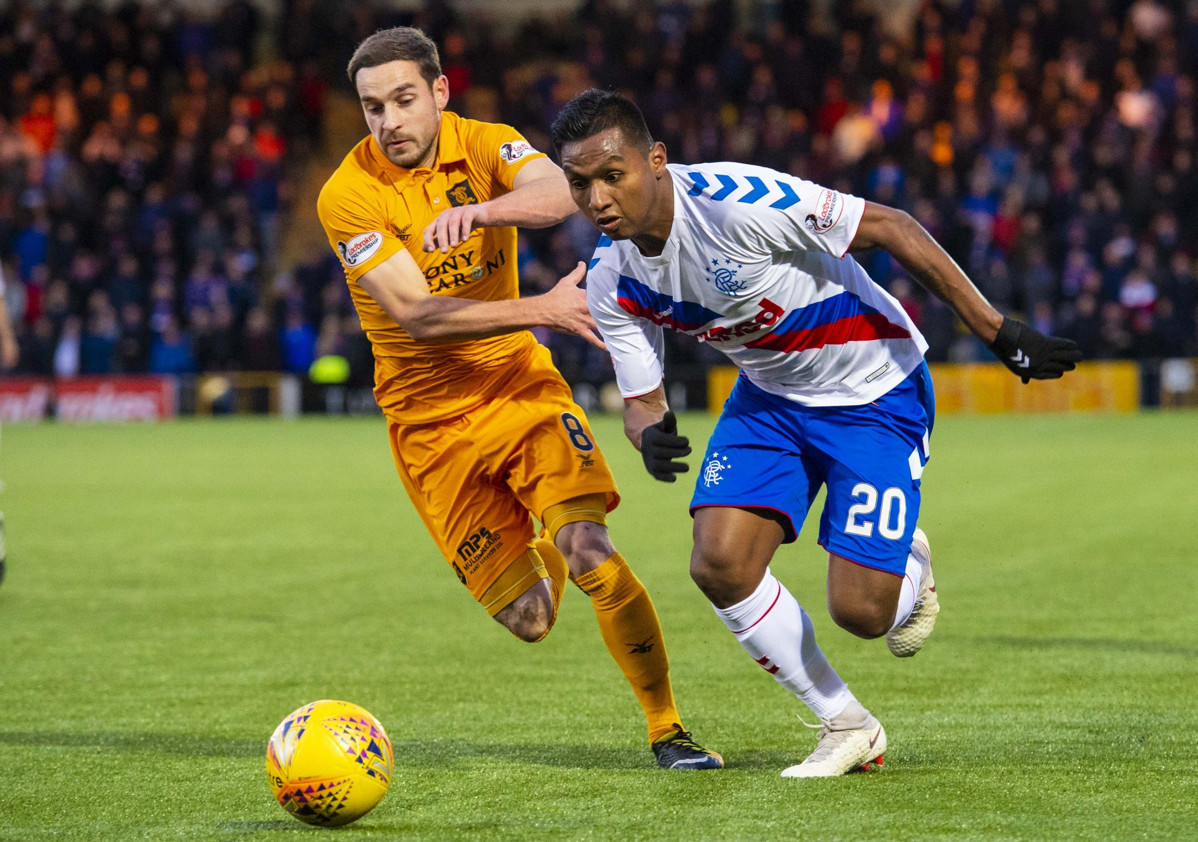 Rangers' away clash with Livingston in Betfred Cup quarter-final picked for BT Sport