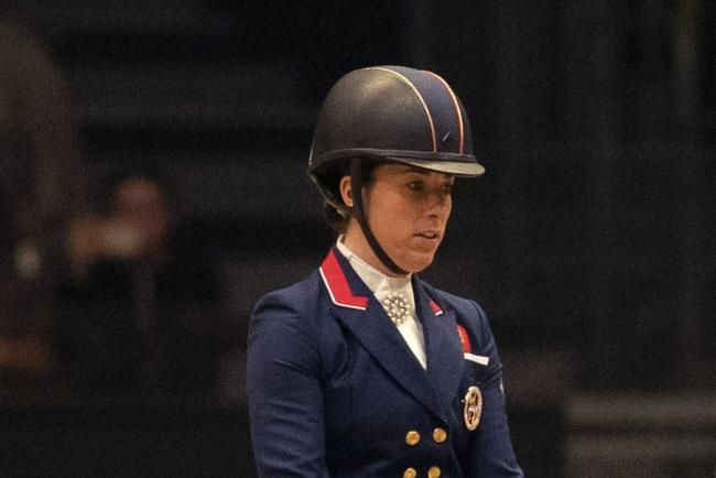 Charlotte Dujardin has been eliminated
