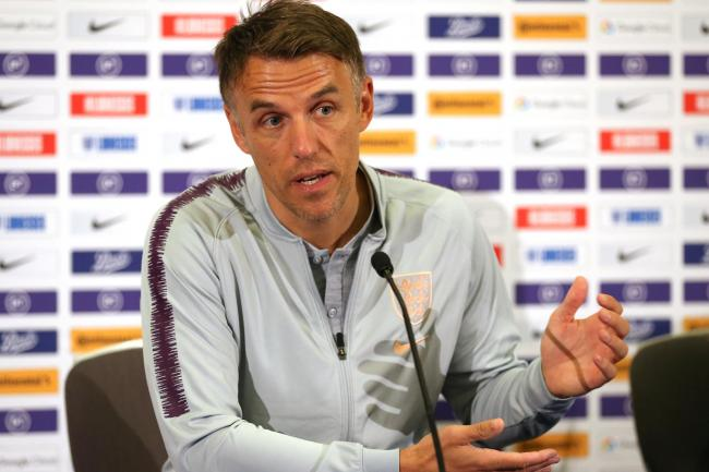 Phil Neville is loving life in charge of England Women