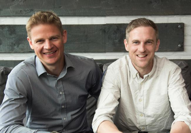 Nigel Eccles (left) and Rob Jones are part of the group of Fanduel founders pursuing the firm for shares lost when the business was sold.