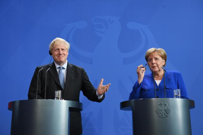Boris in Berlin: Merkel sets 30-day deadline to sort out backstop; PM was very happy to accept it