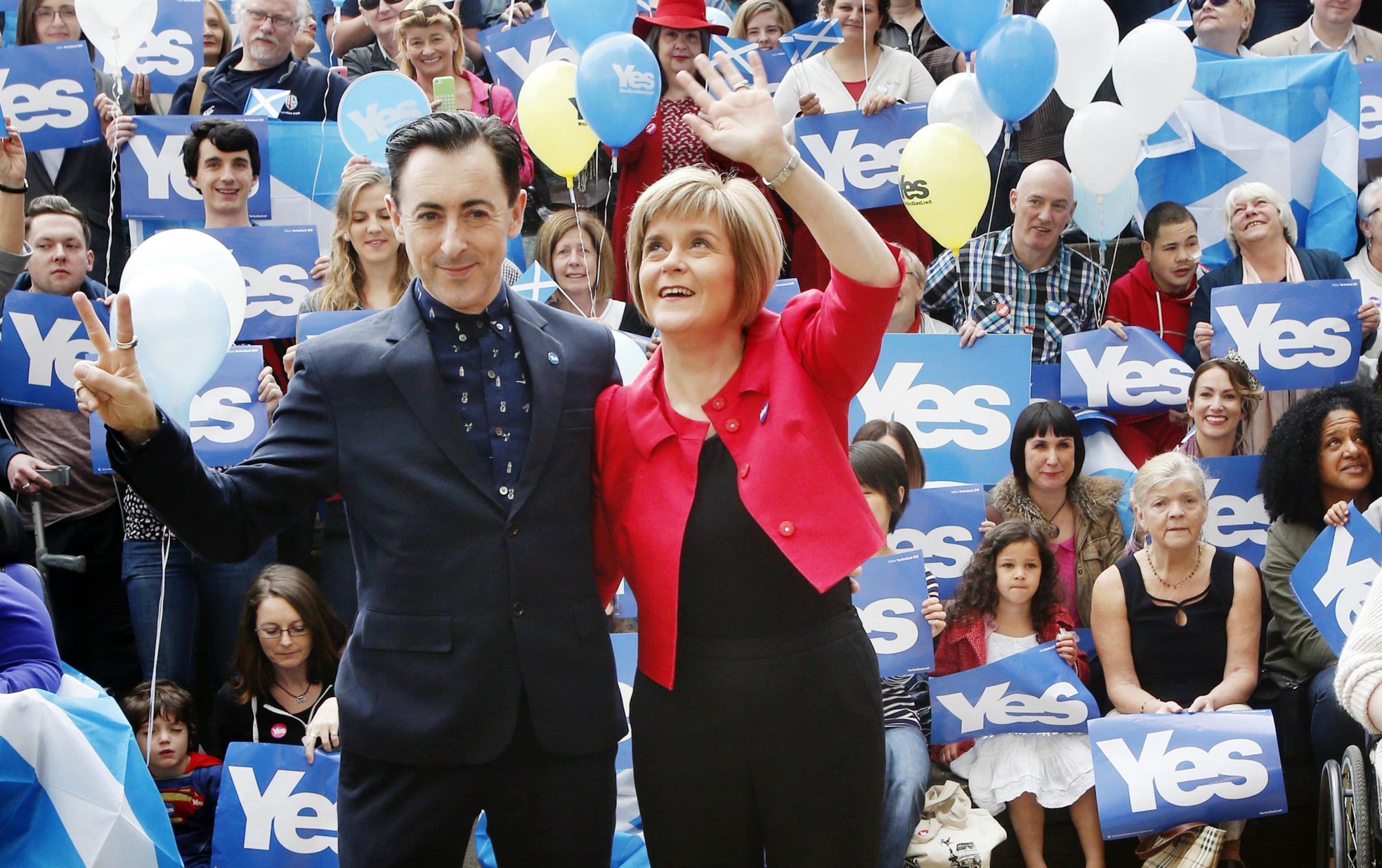 Alan Cumming: Scots were 'duped' in 2014