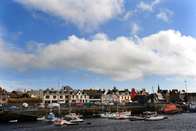 Isle of Lewis Travel Feature...Stornoway Harbour..