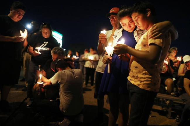 Revealed: America's epidemic of mass shooting threats since El Paso terror