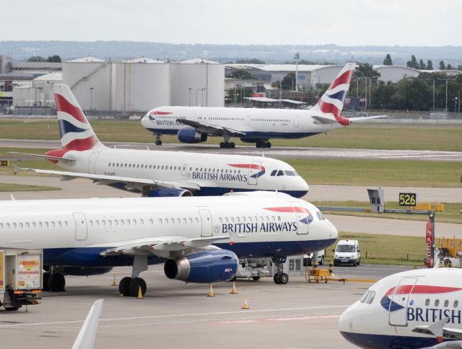 The strike could cost BA up to £120m.