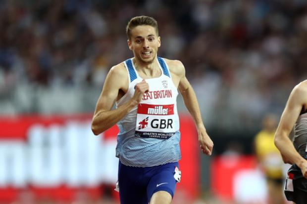 Neil Gourley on this weekend's 1500m battle to be best of British and book a Doha slot