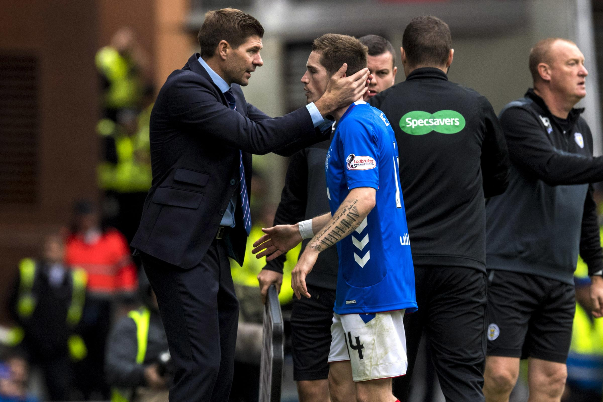Rangers' title ambitions to be tested in pivotal week