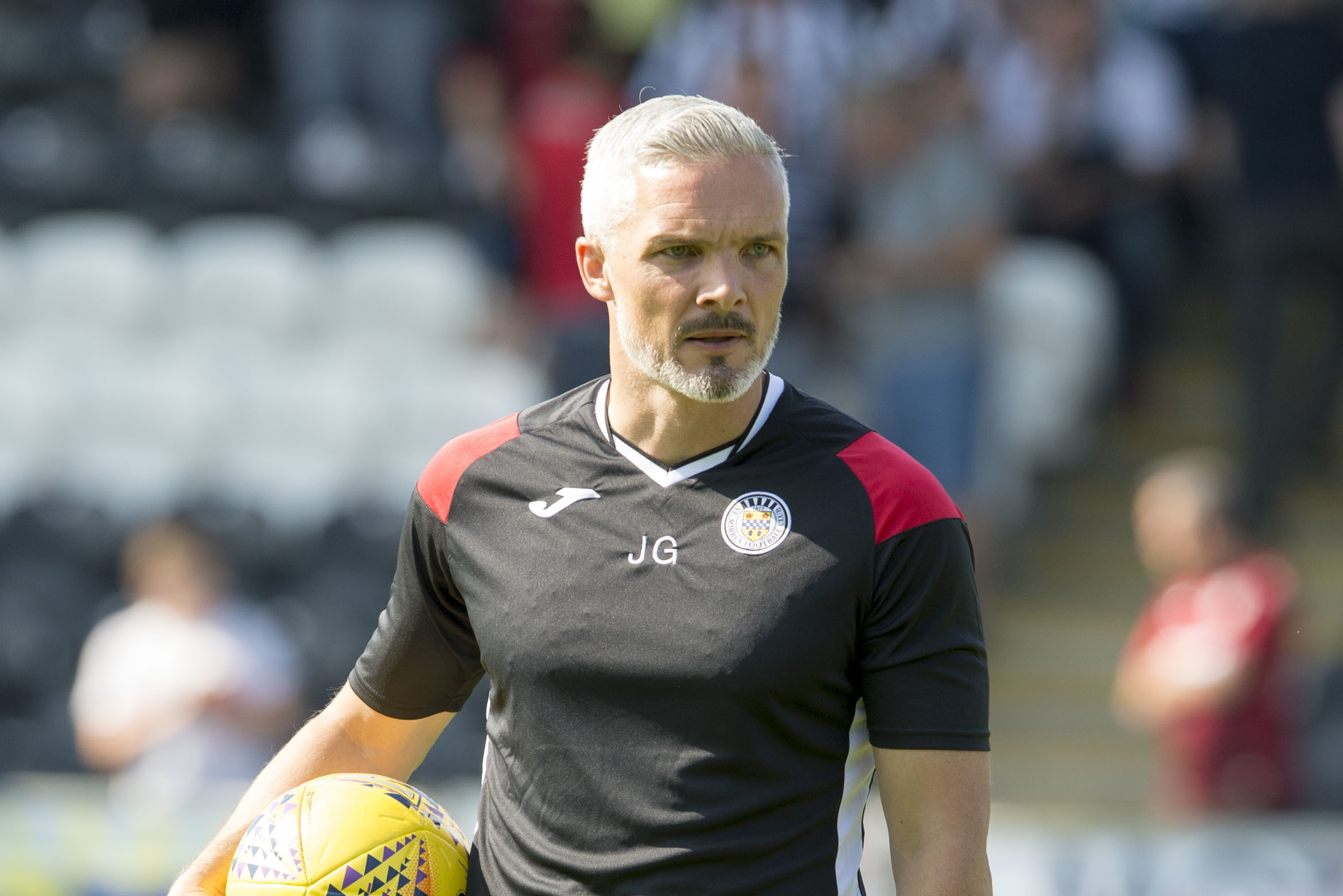 St Mirren manager Jim Goodwin is upbeat after defeat to Rangers