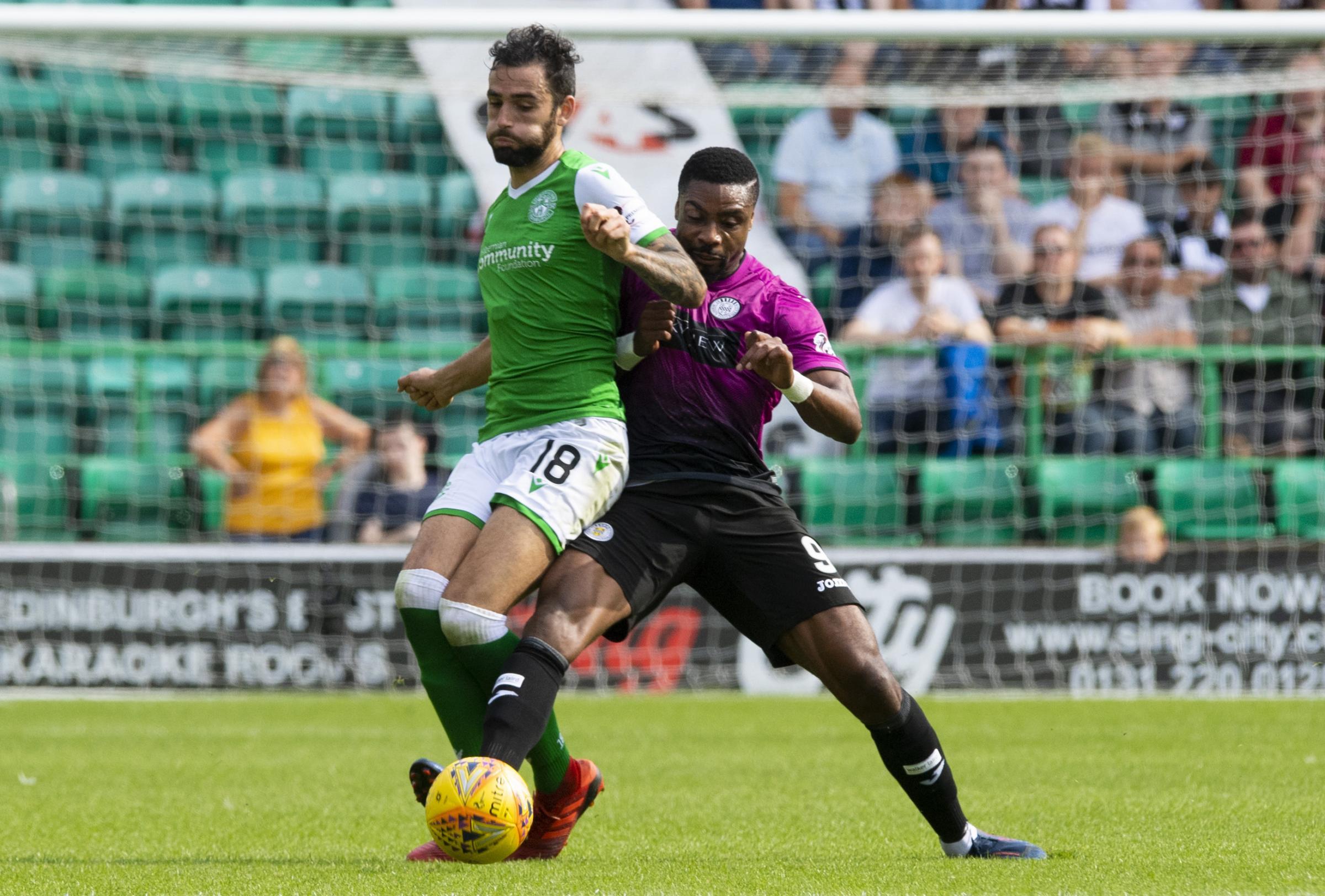 Hibs defender Adam Jackson insists players were not anxious