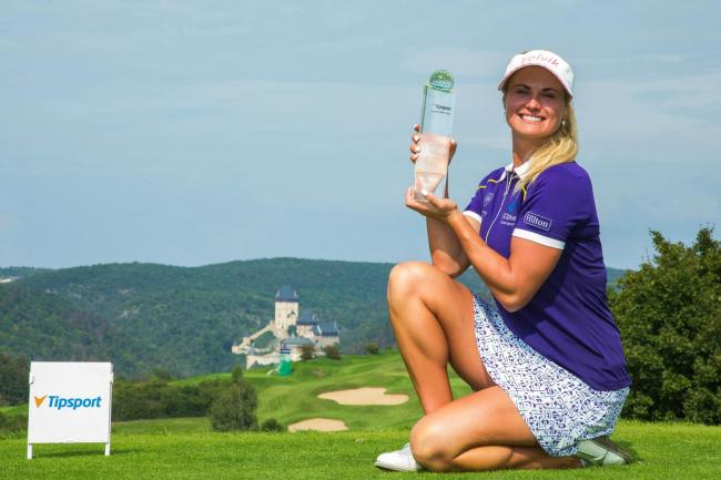 Carly Booth claimed her first tour win in seven years